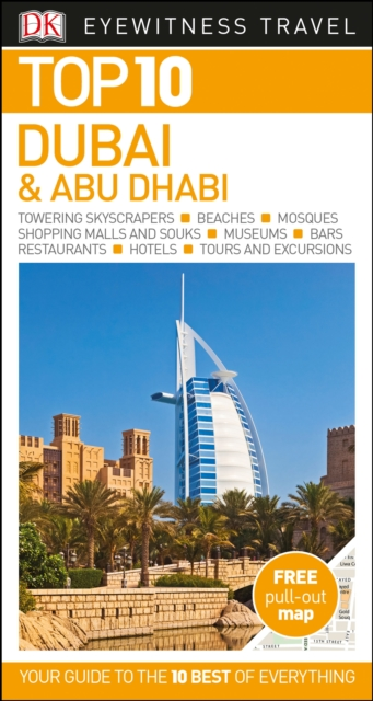 Top 10 Dubai and Abu Dhabi dublin pocket map and guide