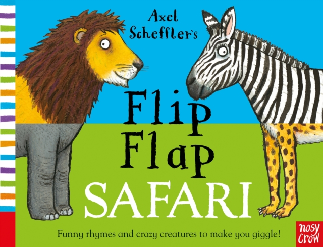 Axel Scheffler's Flip Flap Safari you might be an artist if