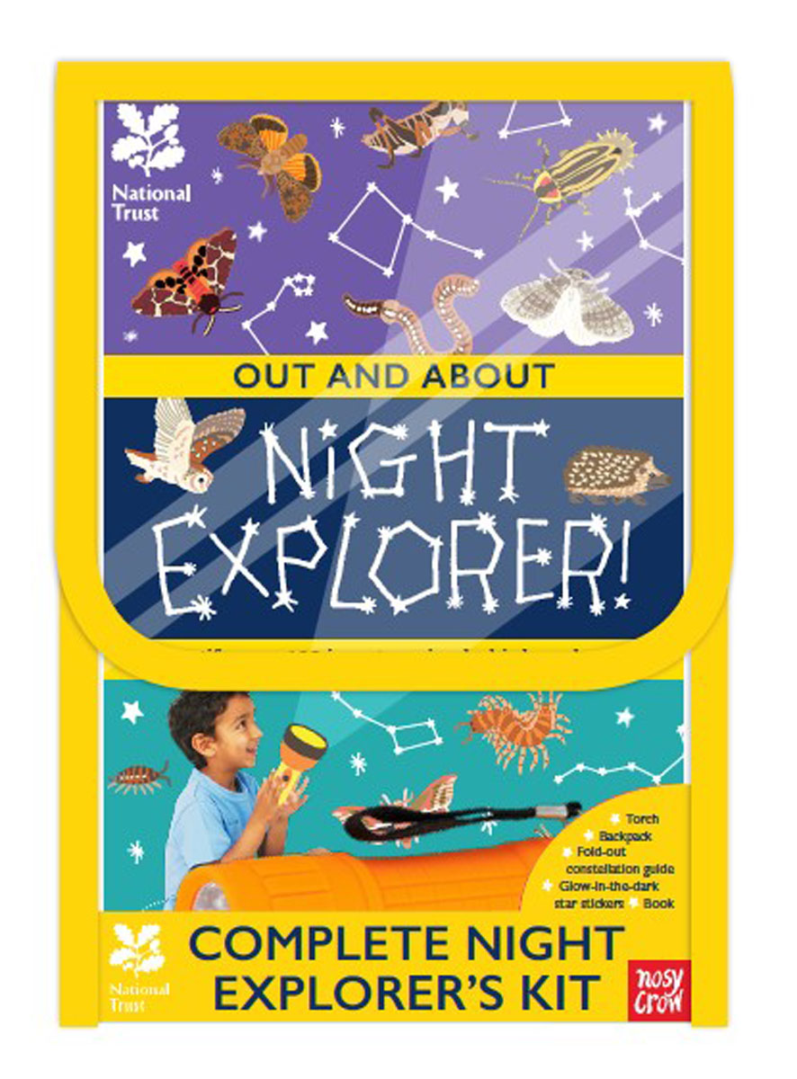 National Trust: Complete Night Explorer's Kit summer can be folded anti uv sun hat sun protection for children to cover the sun with a large cap on the beach bike travel