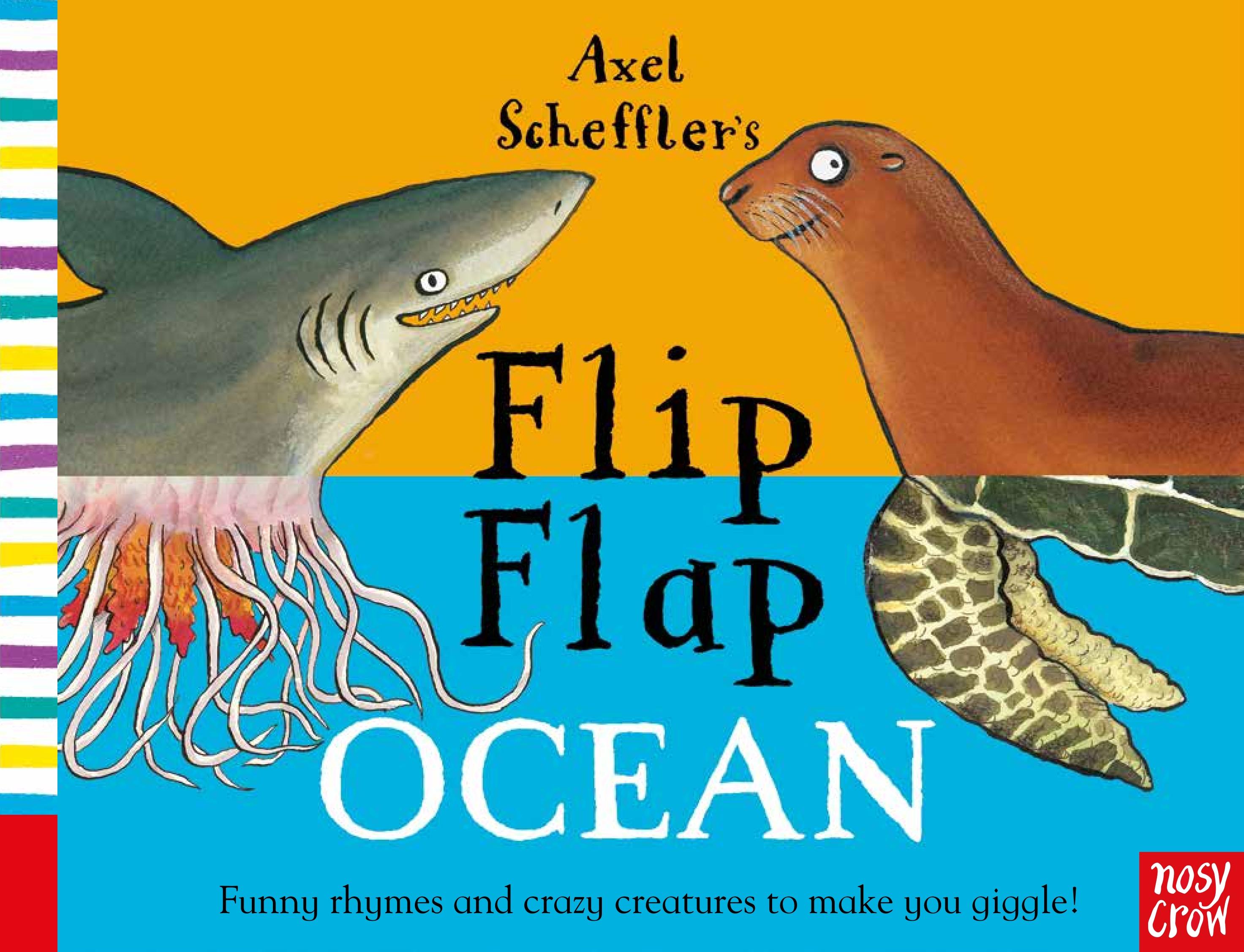 Axel Scheffler's Flip Flap Ocean шапка chicco chicco ch001cgwac44