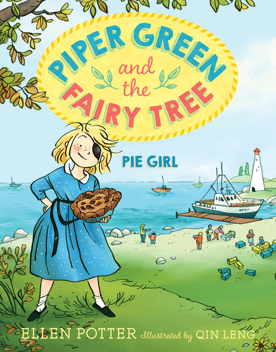 Piper Green and the Fairy Tree: Pie Girl stalking the green fairy page 2
