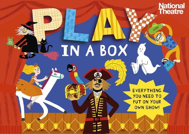 National Theatre: Play in a Box kz headset storage box suitable for original headphones as gift to the customer