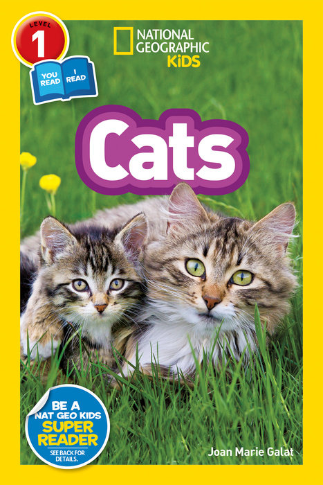 National Geographic Readers: Cats (Level 1 Co-reader) national geographic kids readers ancient egypt l3