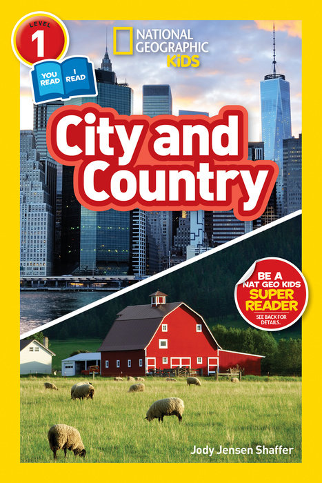 National Geographic Readers: City/Country (Level 1 Co-reader) national geographic kids readers ancient egypt l3