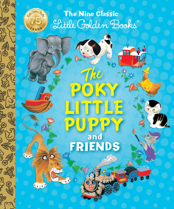 The Poky Little Puppy and Friends: The Nine Classic Little Golden Books valentine s day gift 24k gold foil rose golden