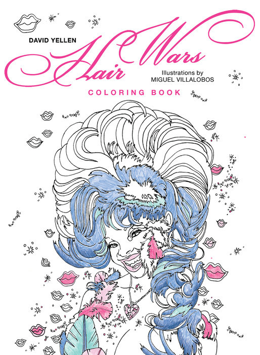 Hair Wars Coloring Book bella italia a coloring book tour of the world capital of romance