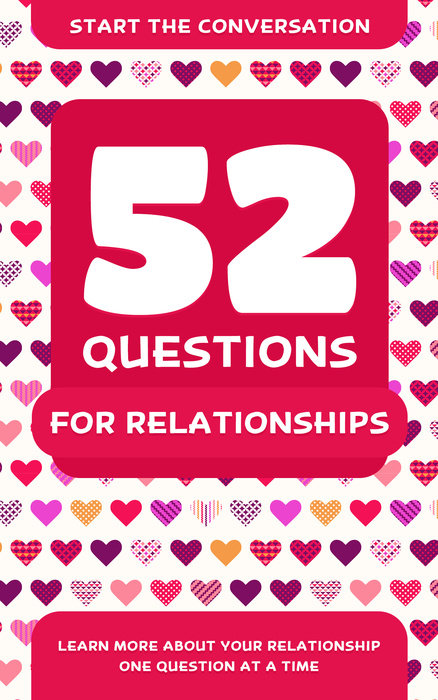 52 Questions for Relationships first law 2 before they are hanged a