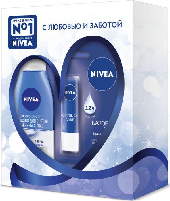 Nivea Подарочный Набор Красота и Нежность nivea средство для удаления макияжа с глаз двойной эффект 125 мл