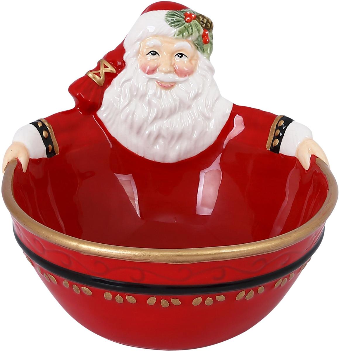 Чаша Fitz and Floyd Новогодняя сказка, 350 мл49-368Рекомендуется бережная ручная мойка с использованием безабразивных моющих средств.