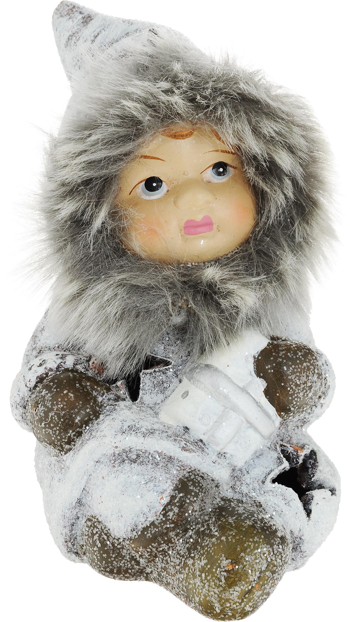 Фигурка новогодняя Эскимосик, с подсветкой, 8 х 7 х 12 см72701