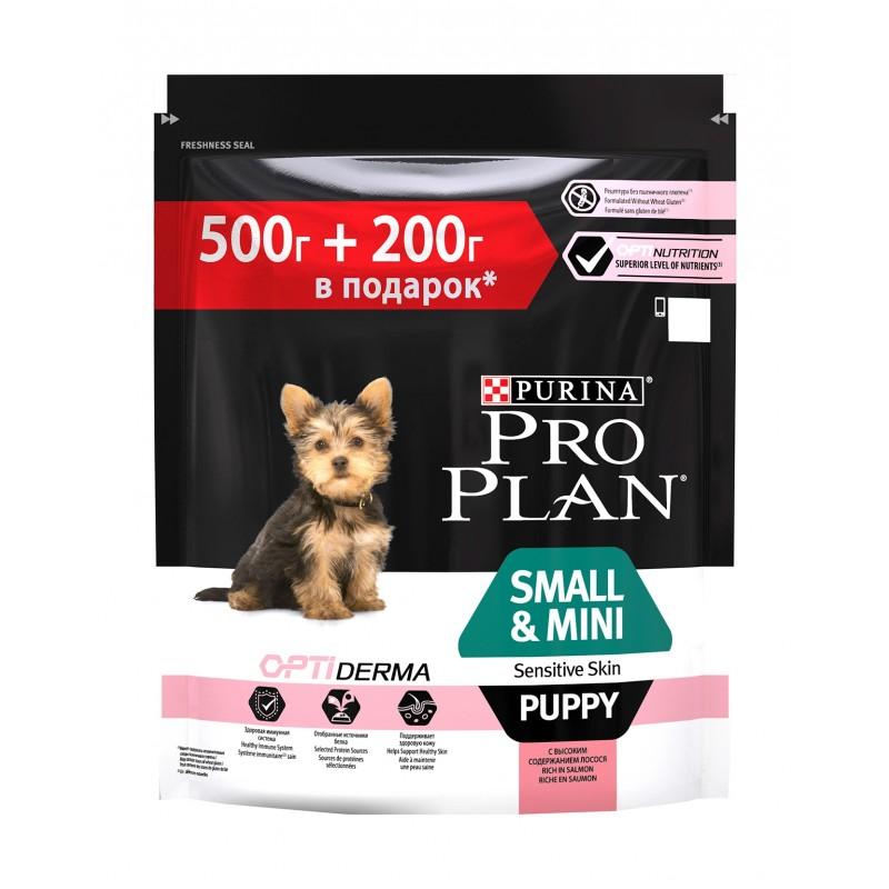 Корм сухой Purina Pro Plan Optiderma, для щенков мелких и карликовых пород с чувствительной кожей, с лососем и рисом, 700 г67615Разработанный ветеринарами корм Purina Pro Plan Optiderma обеспечивает улучшенное питание, которое поддерживает чувствительную кожу взрослых собак. Подтверждено, что Optiderma включает в себя специальную комбинацию питательных веществ, которые поддерживают здоровье кожи и красивую шерсть, а отобранные источники белка помогают сократить возможные кожные реакции, связанные с пищевой чувствительностью.Состав: лосось (14%), рис (14%), обезвоженный белок лосося, кукурузная клейковина, кукурузная крупа, кукурузный крахмал, животный жир, кукуруза, соевая мука, сушеное яйцо, свекольная пульпа, минеральные вещества, сушеный корень цикории, рыбий жир, автолизат, дрожжи, масло соевых бобов.Пищевые добавки: витамин A (30000 МЕ/кг), витамин D3 (975/МЕ/кг), витамин E (550 мг/кг), витамин C (140 мг/кг), сульфат железа моногидрат (295 мг/кг), йодат кальция [безводный] (3,7 мг/кг), сульфат меди пентагидрат (55 мг/кг), сульфат марганца моногидрат (140 мг/кг), сульфат цинка моногидрат (500 мг/кг), селенит натрия (0,30 мг/кг).