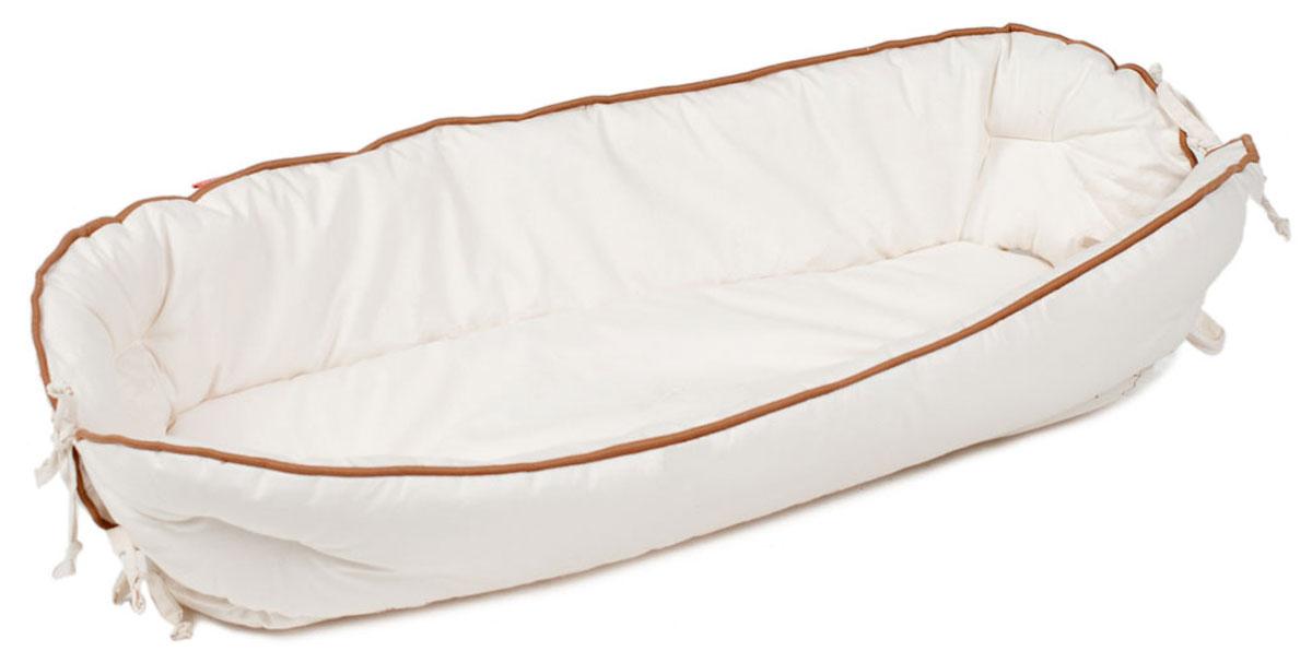 HoneyMammy Кокон для новорожденного для совместного сна Natural