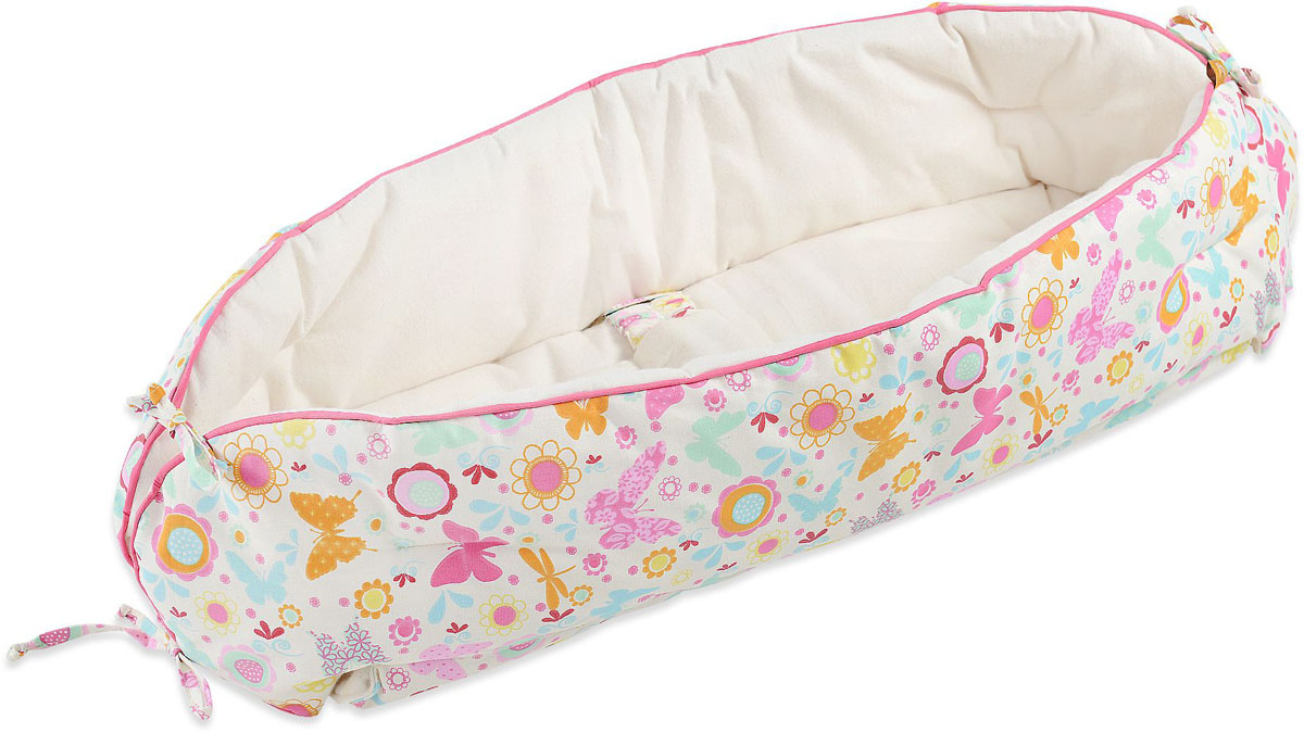 HoneyMammy Кокон Organic для новорожденного для совместного сна Butterfly -  Позиционеры, матрасы для пеленания