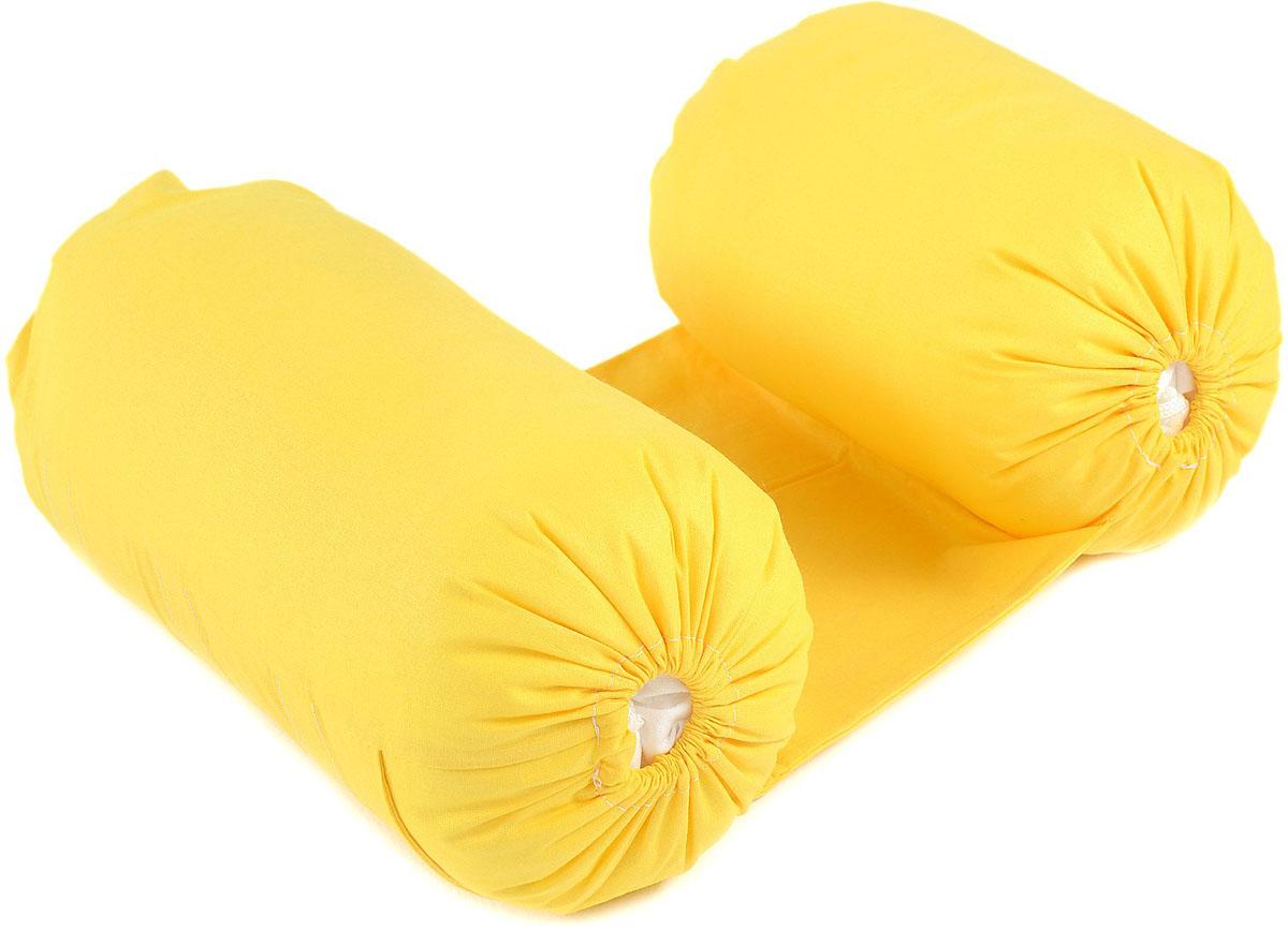 HoneyMammy Позиционер для новорожденных Grano Saraceno Yellow -  Позиционеры, матрасы для пеленания
