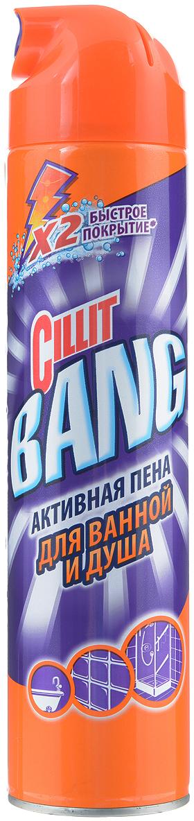 Cillit Bang активная пена для ванной и душа, 600 мл активная пена грасс купить