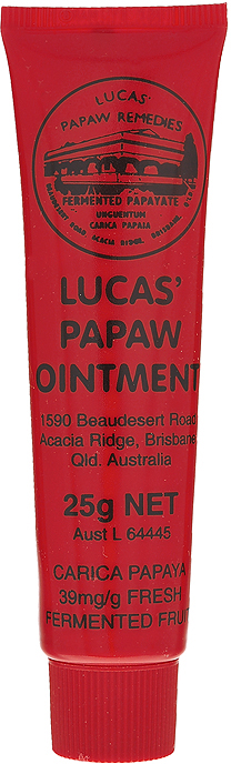 Lucas Papaw Бальзам для губ Ointment, 25 г sumifun 100% original 19 4g red white tiger balm ointment thailand painkiller ointment muscle pain relief ointment soothe itch
