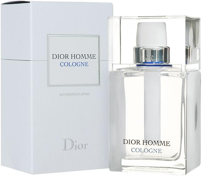 Christian Dior Dior Homme Cologne. Туалетная вода, мужская, 75 мл dior