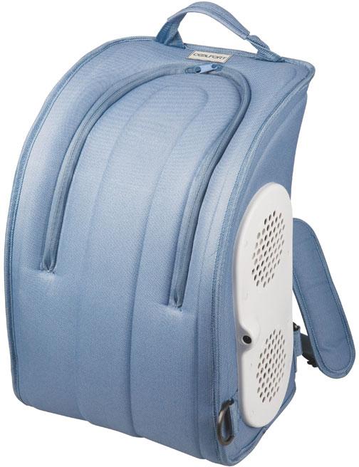 Термоэлектрический мобильный холодильник Coolfort CF-1216.  Любите прогулки жарким летом и мечтаете о том, чтобы всегда под рукой были прохладительные напитки, мороженое? Мобильный холодильник Coolfort CF-1216 создан специально для этого. Он выглядит как рюкзак, что обеспечивает удобную транспортировку. Мобильный термоэлектрический холодильник Coolfort CF-1216 просто незаменим в поездке своим ходом. В этом приборе используется технология ThermoFORT, специальное антибактериальное покрытие, которое увеличивает срок хранения продуктов и упрощает уход за холодильником.