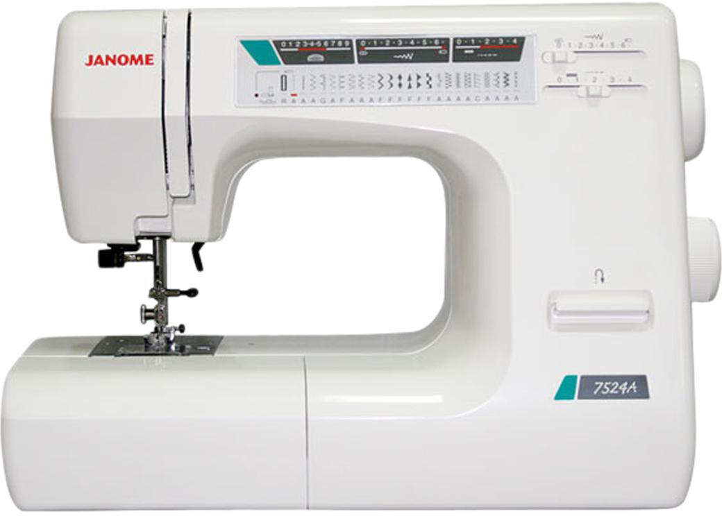 Janome 7524 A швейная машина швейная машина janome sew dream 510