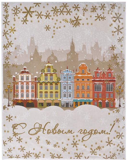 Новогоднее оконное украшение С Новым Годом!. 31253