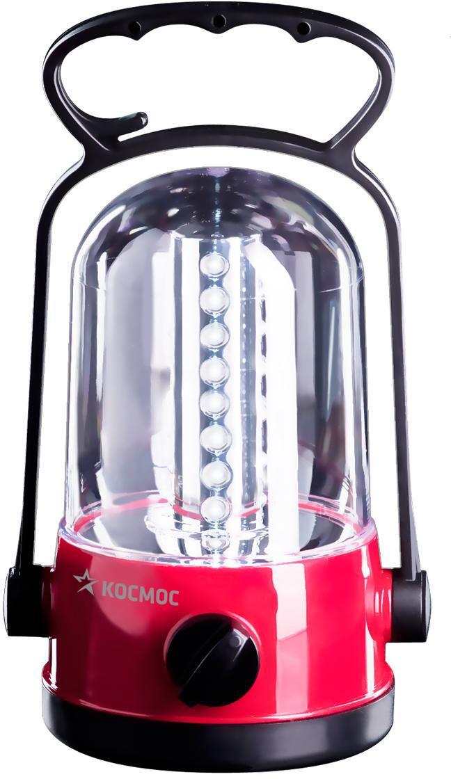 Фонарь кемпинговый Космос, аккумуляторныйKOCAc6010LEDКемпинговый фонарь Космос - это инновационный продукт, сочетающий в себе последние достижения электротехники и эргономики. Он прекрасно подойдет для использования на отдыхе в палатке или на даче. Фонарь имеет надежную ударопрочную конструкцию из пластика и защищен от попадания песка, пыли и влаги внутрь. Он снабжен 32 яркими и экономичными LED элементами. Они не перегорают и не требуют замены. Включение и выключение фонаря происходит при помощи специального переключателя. Фонарь имеет встроенное зарядное устройство и индикацию процесса зарядки. Благодаря удобной складной ручкой-трансформер фонарь можно использовать не только для настольной работы, но и переносить с места на место и освещать объекты на земле. Функция крючка позволяет подвешивать фонарь в качестве источника света внутри помещения и палаток. Фонарь укомплектован сетевым шнуром для подзарядки. Характеристики:Материал: пластик, стекло, металл. Размер фонаря (с учетом ручки):19,5 см х 9 см х 9 см. Тип лампочки:LED. Количество лампочек:32 шт. Аккумуляторная батарея:2х4V 0,9Ah. Время непрерывной работы (при полностью заряженной батарее):до 10 ч. Время полной зарядки фонаря:24 ч. Рабочие температуры фонаря (при полностью заряженной батарее):от - 10°С до +40°С. Размер упаковки:10 см х 20,5 см х 10 см. Производитель: Россия. Изготовитель: Китай. Артикул:KOCAc6010LED. Прилагается инструкция по эксплуатации на русском языке. Космос - российский бренд электротоваров, созданный, чтобы обеспечить отечественного покупателя качественной энергосберегающей и энергоэффективной продукцией в категориях:Лампы, светильники Сезонные электротовары Элементы питания, фонари Электроустановочные изделия. Лучшие заводы шести стран мира: Россия, Украина, Белоруссия, Китай, Корея, Япония производят товары Космос на базе современных технологий.