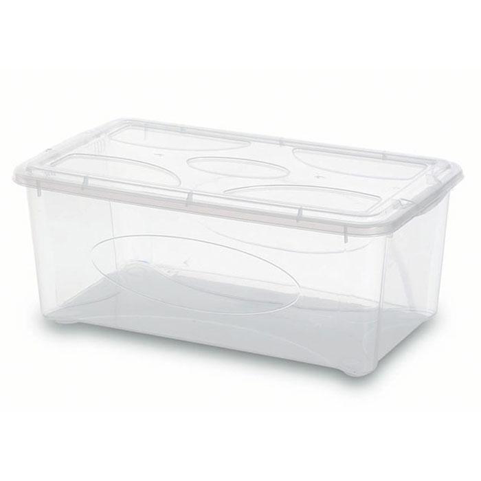 Контейнер Gensini с крышкой, универсальный, 10 л2205Универсальный контейнер Gensini прямоугольной формы прекрасно подойдет для хранения небольших игрушек, инструментов, швейных принадлежностей и многого другого. Он изготовлен из высококачественного прозрачного пластика. Благодаря прозрачности вы всегда сможете видеть содержимое контейнера и без труда отыщите нужную вам вещь. Контейнер закрывается крышкой.Удобный и легкий контейнер позволит вам хранить вещи в полном порядке, а благодаря современному дизайну он впишется в любой интерьер. Контейнер имеет компактные размеры, поэтому не занимает много места. Характеристики: Материал: пластик. Размер контейнера: 40 см х 24 см х 16 см. Объем контейнера:10 л. Производитель: Италия. Артикул: 2205.