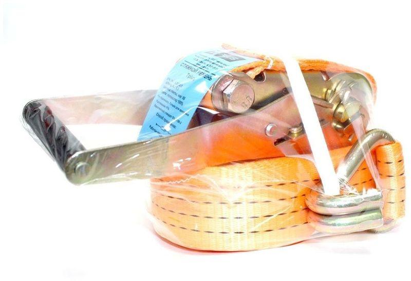Ремень стяжной Tplus, 5/10 т, 8 мT000739Предельная рабочая нагрузка (WLL): прямое крепление 115 -- 5 т; крепление в обхват 115 - копия -- 10 т; Длина: 8 м; Ширина ленты: 50 мм; Материал: полиэстер; Гарантия: 1 год.
