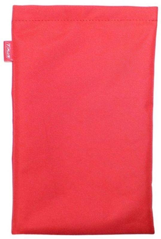 Мешок Tplus, для шаклов и блоков, цвет: красный, 20 х 30 смT001420Материал: оксфорд;Цвет: красный;Непромокаемый.