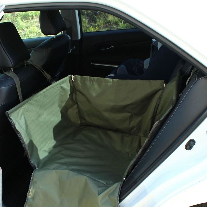 Автогамак Компакт, цвет: олива автогамак оксфорд черный tplus компакт t002245