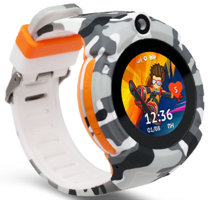 Кнопка Жизни Aimoto Sport, Military умные часы - Умные часы