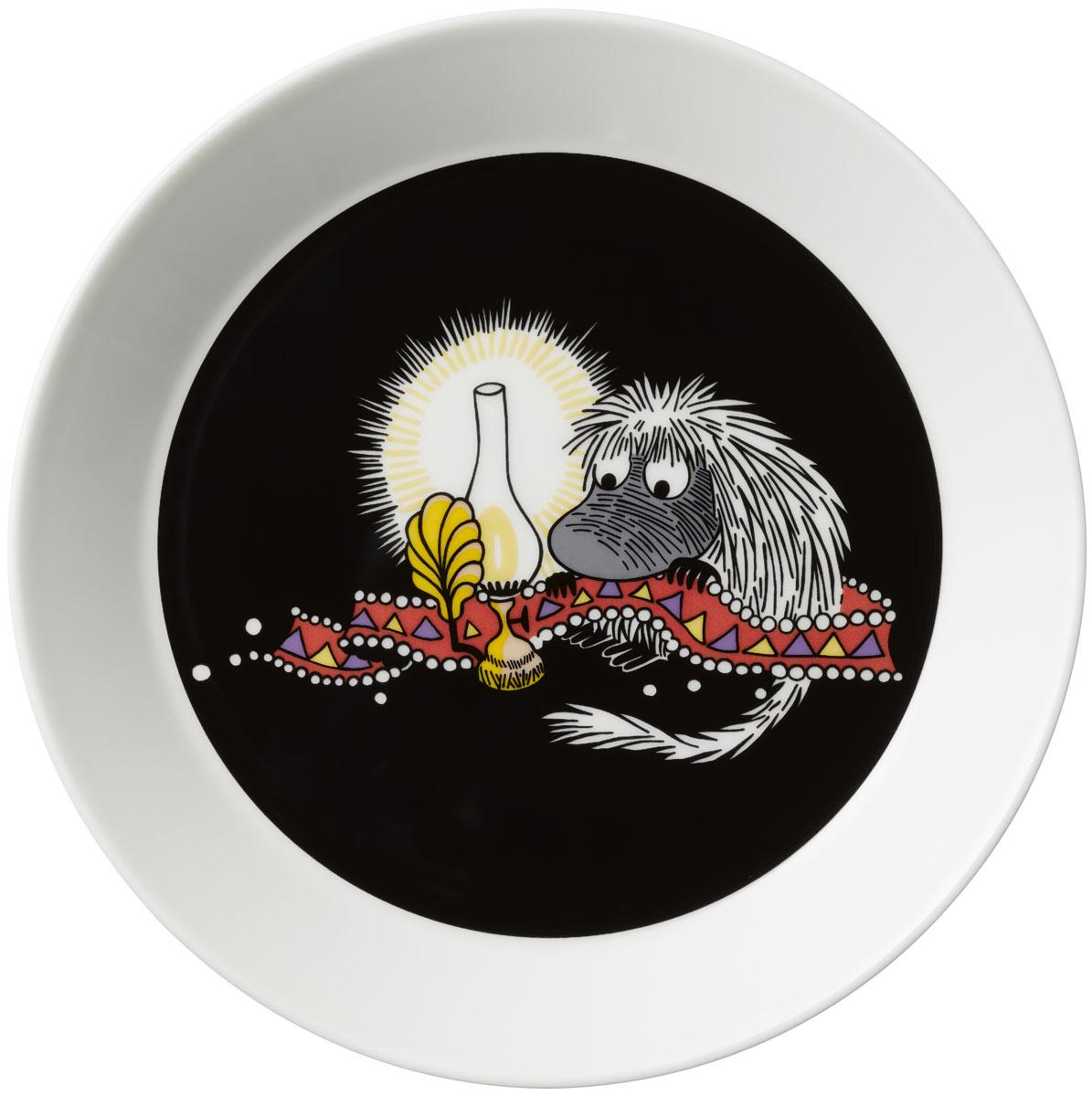 Тарелка Arabia Finland Предок, цвет: черный, диаметр 19 см1019854