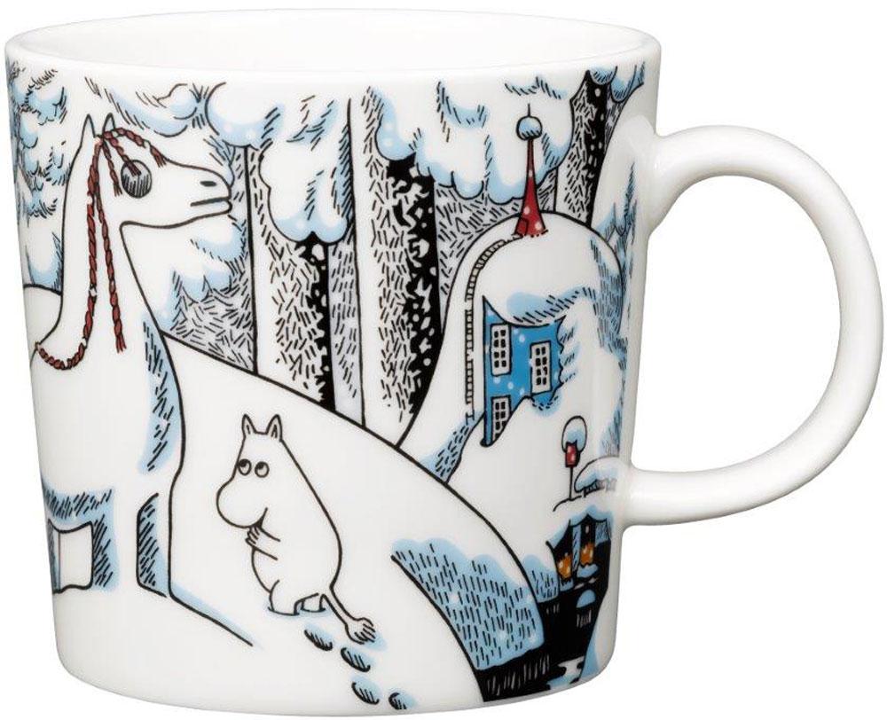 Кружка Arabia Finland Moomin Snowhorse, цвет: мультиколор, 300 мл1020757
