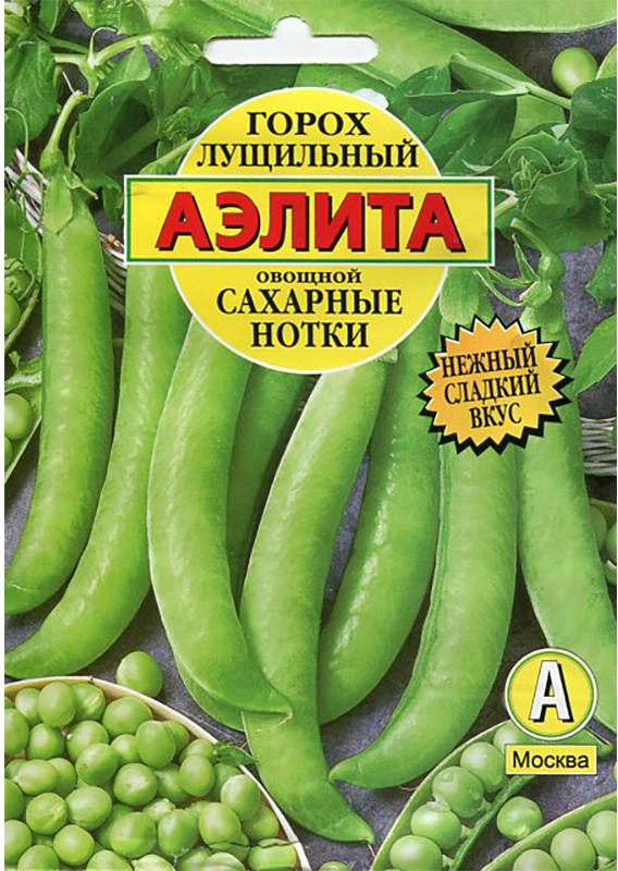 Семена Аэлита Горох лущильный овощной. Сахарные нотки4601729068652Раннеспелый лущильный сорт, от полных всходов до технической спелости 50-55 дней. Растения высотой 80-90 см, формируют по 2 боба в узле. Бобы длинные, содержат 7-9 зерен. Горошек мозгового типа, в технической спелости гладкий, выравненный по размеру, сладкий, сочный. Урожайность – 0,5-0.7 кг/кв. м. Рекомендуется для потребления в свежем виде, традиционногоконсервирования и замораживания в фазу молочно-восковой спелости. Сорт ценится за отличные вкусовые и технологические качества зеленого горошка, устойчивость к болезням культуры, дружное созревание и пригодность к одноразовой (механизированной) уборке. Посев. Перед посевом семена замачивают в воде до набухания. Высевают семена в открытый грунт на глубину 4-6 см. Собирают урожай по мере созревания. Растениям необходимы своевременные поливы, прополки, рыхления.Товар сертифицирован.Уважаемые клиенты! Обращаем ваше внимание на то, что упаковка может иметь несколько видов дизайна. Поставка осуществляется в зависимости от наличия на складе.