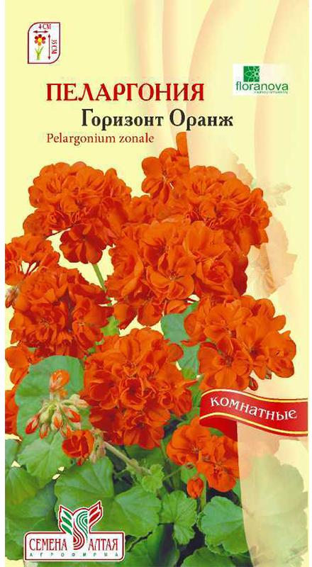 Семена Алтая Пеларгония зональная. Горизонт Оранж4620009639818Многолетнее растение - можно выращивать как комнатное, или садовое однолетнее. Великолепный гибрид! Формирует объемный и компактный кустик высотой 30-35 см. Простые крупные цветки собраны в огромные шапки ярко-оранжевых шаровидных соцветий, до 12 см в диаметре. Серия специально предназначена для выращивания в горшках. Отличается повышенной однородностью и необыкновенной обильностью цветения. Пеларгония Горизонт широко используется в озеленении лоджий, веранд, балконов, а также для создания ярких композиций в саду. Растения светолюбивы, но могут расти и в полутени, относительно холодостойки, засухоустойчивы и нуждаются в легких питательных почвах. Семена на рассаду высевают с января по сентябрь в рыхлую легкую почву. Посевы накрывают пленкой или стеклом и ставят в светлое и теплое место. При температуре 20-21°С всходы появляются на 5-7 день. При недостатке света сеянцы вытягиваются и погибают. Пикируют при появлении 2-3 настоящих листьев. В сад можно высаживать с конца мая, когда минует угроза заморозков.Уважаемые клиенты! Обращаем ваше внимание на то, что упаковка может иметь несколько видов дизайна. Поставка осуществляется в зависимости от наличия на складе.