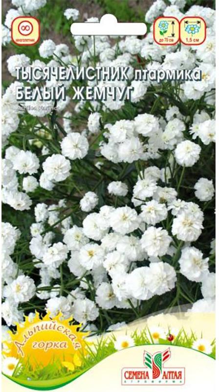 Семена Алтая Тысячелистник. Белый жемчуг4630043111089Уважаемые клиенты! Обращаем ваше внимание на то, что упаковка может иметь несколько видов дизайна. Поставка осуществляется в зависимости от наличия на складе.