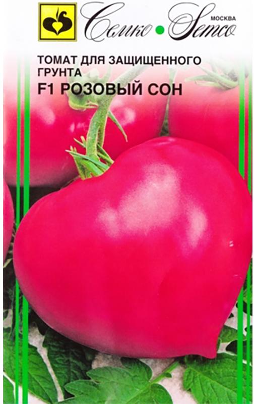 Семена Семко Томат Розовый Сон F14640001822964 Уважаемые клиенты! Обращаем ваше внимание на то, что упаковка может иметь несколько видов дизайна. Поставка осуществляется в зависимости от наличия на складе.