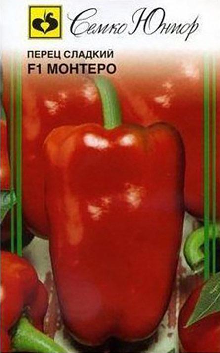 Семена Семко Перец Монтеро F14640001824555Уважаемые клиенты! Обращаем ваше внимание на то, что упаковка может иметь несколько видов дизайна. Поставка осуществляется в зависимости от наличия на складе.