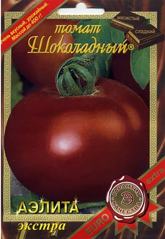 Семена Аэлита Томат. Шоколадный4640012530667Сорт среднеранний. Растение полудетерминантное, высотой 110-150 см. Плоды многокамерные, плоскоокруглой формы, коричневого цвета, с оранжево-коричневой нежной мякотью, массой 200-400 г, очень вкусные, сладкие, мясистые. Предназначен для выращивания в пленочных теплицах и открытом грунте. Рекомендуется для приготовления салатов, гарниров, варенья, всех видов домашней кулинарии. Высадка рассады: с конца мая (когда минует угроза заморозков) по схеме: 70 см между рядами, 50 см между растениями.Уход: пикировка через 20 дней после посева. Через 12 дней - подкормка: рекомендуем удобрение АЭЛИТА-ОВОЩНОЕ. Почву необходимо регулярно подкармливать, поливать и рыхлить.Уважаемые клиенты! Обращаем ваше внимание на то, что упаковка может иметь несколько видов дизайна. Поставка осуществляется в зависимости от наличия на складе.