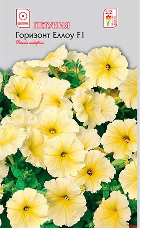 Семена Алтая Петуния. Горизонт Еллоу F14680206000088Однолетник. Уникальная серия низкорослой многоцветковой петунии с крупными лимонно-желтыми цветками, диаметром 6-7 см. Образует плотные густоветвистые кустики высотой 25-30 см. Отличается обильным ранним цветением. Растение не повреждается дождем и сильным ветром, сохраняет компактную форму в течение всего лета. Идеально подходит для оформления клумб, бордюров, рабаток, отлично смотрится в вазонах, подвесных корзинах, балконных ящиках.Светолюбивое и достаточно засухоустойчивое растение. Предпочитает легкие плодородные, хорошо дренированные почвы. Семена на рассаду сеют в феврале-марте, не заделывая землей, а просто накрывая ящики стеклом. Пока всходы мелкие, их лучше не поливать, а опрыскивать. На открытом воздухе продолжают выращивать с конца мая. Благодарно отзывается на поливы и регулярные подкормки. Спокойно переносит пересадку во взрослом состоянии. Возможно сохранение растений в зимний период в комнатных условиях.Уважаемые клиенты! Обращаем ваше внимание на то, что упаковка может иметь несколько видов дизайна. Поставка осуществляется в зависимости от наличия на складе.