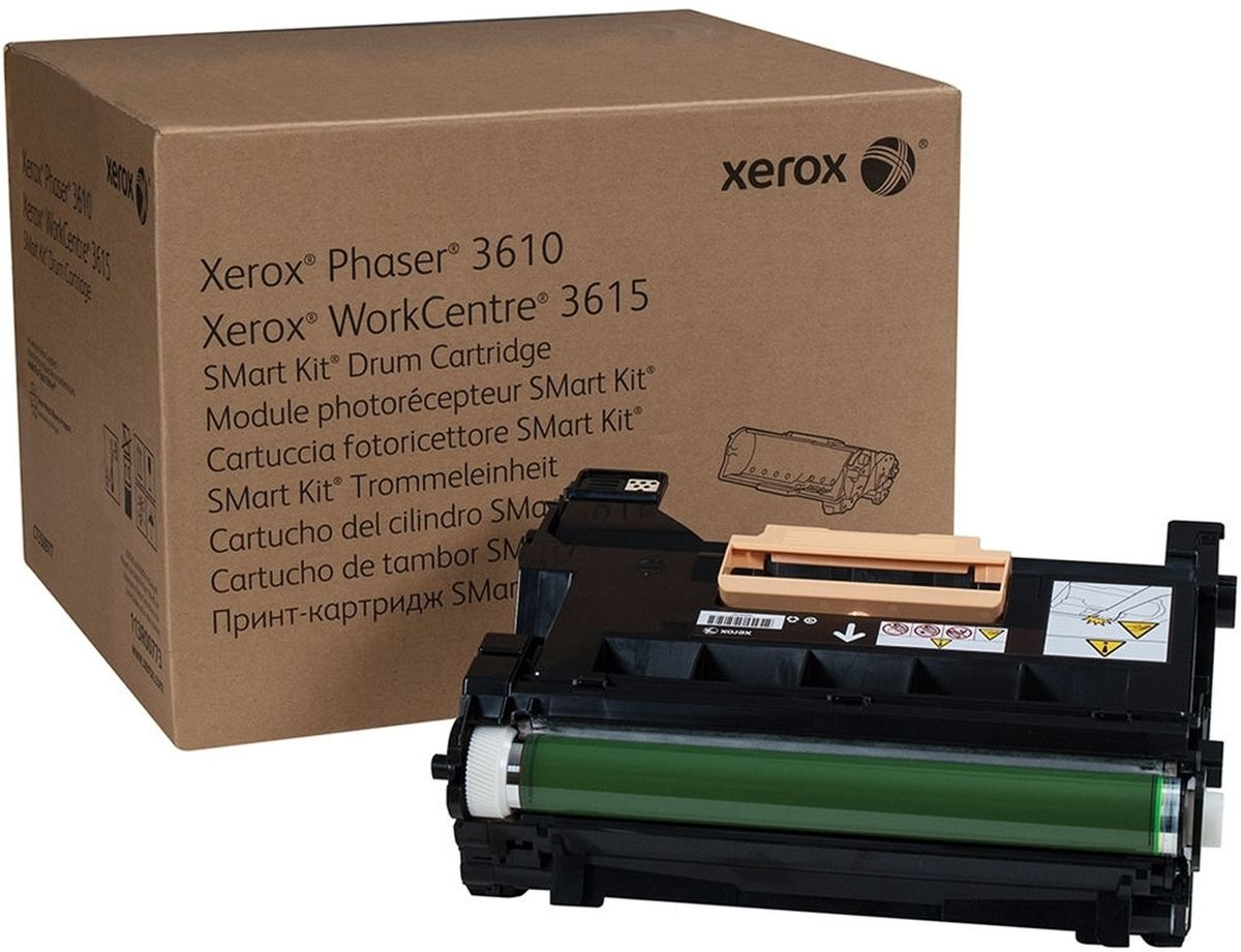 Xerox 113R00773, Black фотобарабан для Xerox Phaser 3610/WorkCentre 3615 фотобарабан xerox 113r00670 для phaser 5500 60000стр