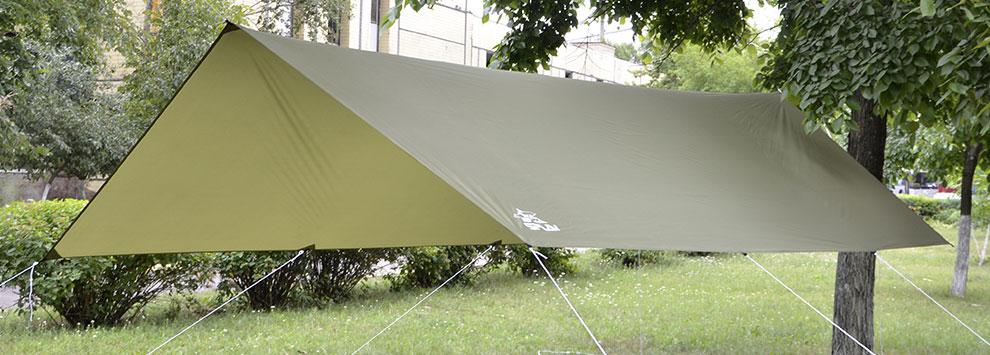 Тент  Сплав , цвет: хаки, 3 х 4,5 м -  Мебель для отдыха