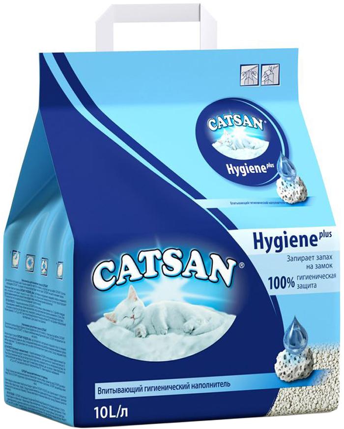 Наполнитель для кошачьего туалета Catsan, впитывающий, 10 л наполнитель sanicat hygiene plus 10l 170 103