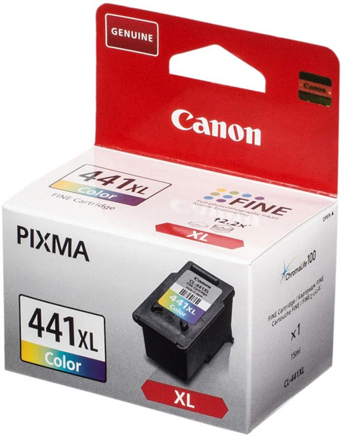 Canon CL-441XLCMY цветной картридж для струйных МФУ/принтеров canon pg 510bk black картридж для струйных мфу принтеров