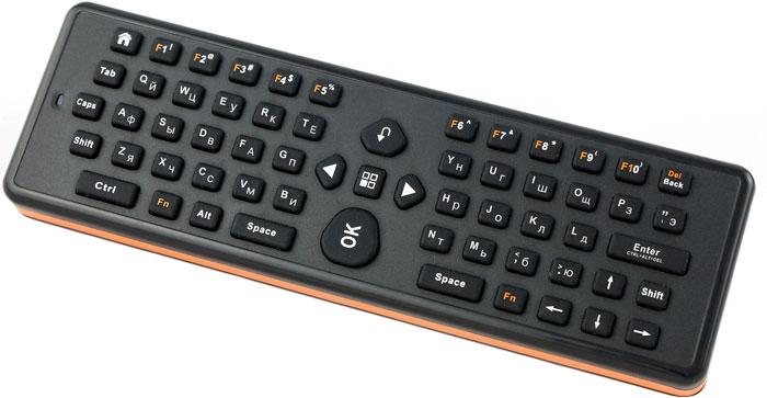UPVEL UM-511KB беспроводная 3D мышь + QWERTY клавиатура upvel um 514c док станция для smart tv приставок