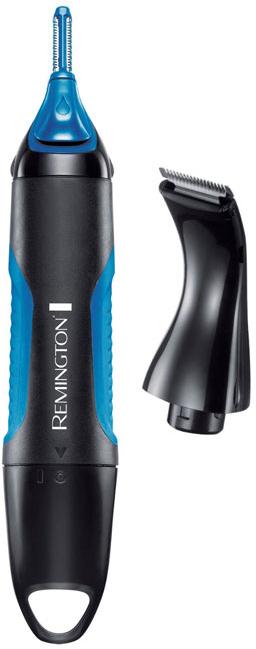 Remington NE3750 Nano Series Lithium гигиенический триммерNE3750С помощью триммера Remington NE3750 Nano Series Lithiumвы сможете контролировать нежелательные волоски. Теперь вы можете быстро и легко удалить нежелательные волоски в носу, ушах и бровях, а также в небольших областях бороды.Оснащенный множеством насадок, этот компактный прибор удовлетворит все ваши потребности в уходе за волосами; с помощью роторной насадки, двух вертикальных направляющих насадок, насадки триммера и регулируемой насадки-расчески вы сможете привести в порядок деликатные области на лице.Вертикальный триммер имеет антибактериальное нано-покрытие, которое подавляет распространение бактерий и уменьшает раздражение кожи.Триммер работает от 1 литиевой батарейки типа АА (входит в комплект).