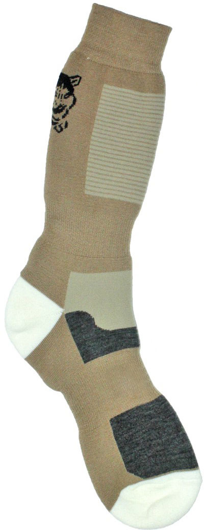 Термоноски мужские Haski, цвет: коричневый, серо-бежевый, черный, белый. H009. Размер 44/46H009Мужские термоноски Haski предназначены для ежедневного использования в холодную погоду. Модель выполнена из акрила, полиамида, мериносовой шерсти и эластана. Содержащиеся в составе волокна шерсти овец мериносов позволяют максимально сохранить тепло и обеспечивают приятную легкость и дополнительный комфорт. Длина носка подобрана оптимально для наилучшего сохранения тепла. Наличие синтетических нитей заметно повышает износостойкость модели.