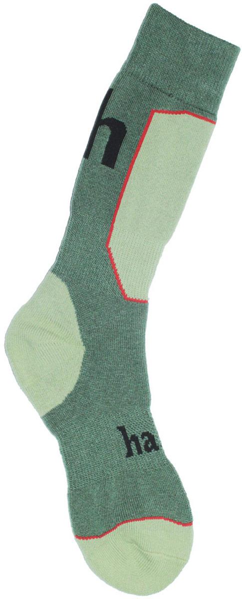 Термоноски мужские Haski, цвет: зеленый, светло-зеленый. H003. Размер 44/46H003Мужские термоноски Haski предназначены для длительного нахождения на улице в холодную и очень холодную погоду. Многозональная модель выполнена из высококачественного комбинированного материала. Модель имеет увеличенную толщину для максимального сохранения тепла. Эластичные вставки из полиамида защищают стопу от натирания, а шерсть мериносов отлично сохраняет тепло, впитывает влагу и поглощает запах.