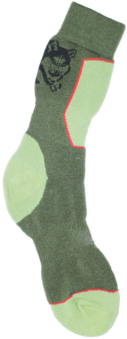 Термоноски мужские Haski, цвет: зеленый, светло-зеленый, красный. H004. Размер 38/40H004Мужские термоноски Haski предназначены для ежедневного использования в холодную погоду. Модель выполнена из акрила, полиамида, мериносовой шерсти и эластана. Содержащиеся в составе волокна шерсти овец мериносов позволяют максимально сохранить тепло и обеспечивают приятную легкость и дополнительный комфорт. Длина носка подобрана оптимально для наилучшего сохранения тепла. Наличие синтетических нитей заметно повышает износостойкость модели.