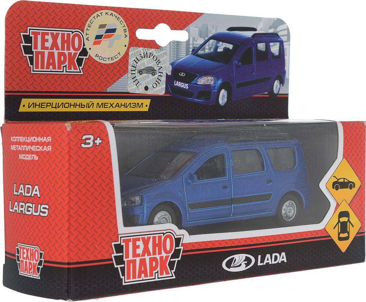 ТехноПарк Модель автомобиля Lada Largus цвет синий ТехноПарк