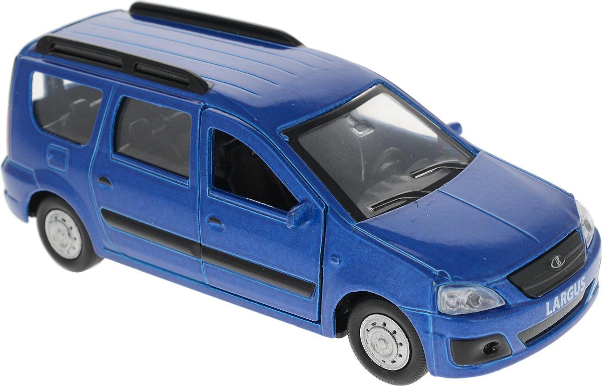ТехноПарк Модель автомобиля Lada Largus цвет синий технопарк машина ford transit такси с открывающимися дверями светом и звук ом технопарк